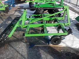 Культиватор навесной 2,5 м с катком , фото 2