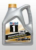 Масло моторное Mobil1  0W-40 API SN/CF  ACEA A3/B3 (Канистра 4 литра), фото 1