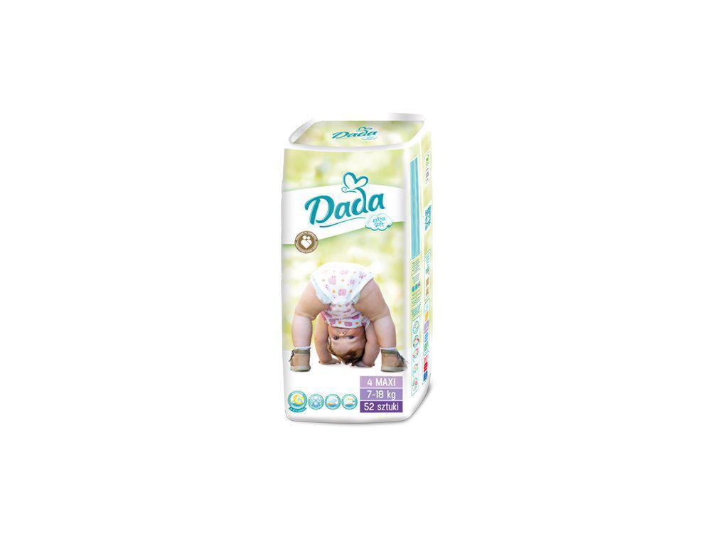 Подгузники Dada 4 Extra Soft (7 - 18 кг) 52 шт, цена 220 грн ... b2bff48dd06
