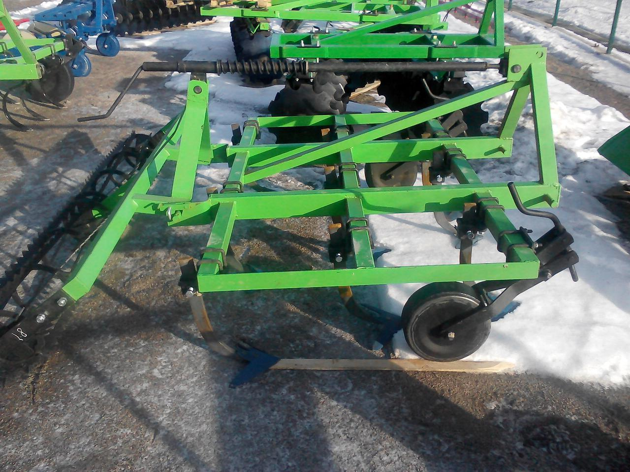 Культиватор навесной 2,5 м с катком на подшипнике