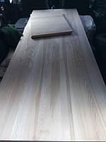 Мебельный щит ЯСЕНЬ, 40мм, цельнолам, 1 сорт, доставка по Украине