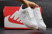кроссовки Nike Air Force кожаные белые ТОП КАЧЕСТВО