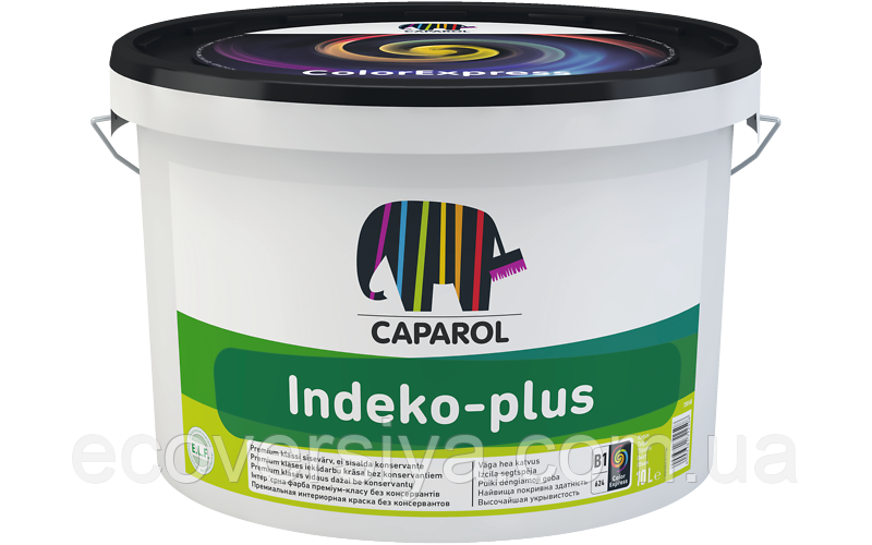 Indeko-plus - краска интерьерная быстросохнущая