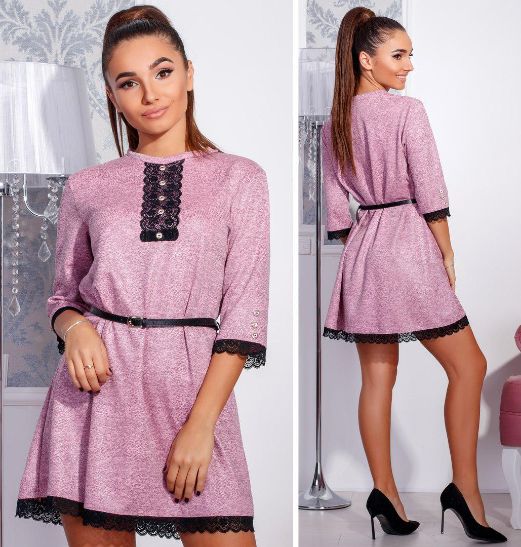 Платье трикотажное в расцветках 23753  Интернет-магазин модной ... 9ef6a38038cb5