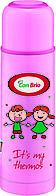 Вакуумный термос детский Con Brio 500мл CB-345 розовый