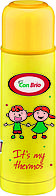 Вакуумный термос детский Con Brio 500мл CB-344 желтый