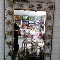 Кованное зеркало среднее, фото 1