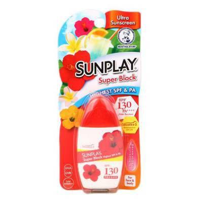 Mentholatum Sunplay Super Sun Block солнцезащитное средство