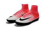 Сороконожки Nike MercurialX Proximo II pink/white, фото 3