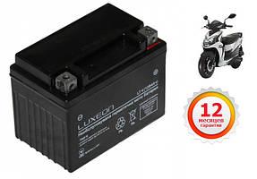 Мощная аккумуляторная батарея LUXEON LT4 (для пуска мопеда)