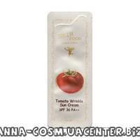 Skin Food Tomato Wrinkle Солнцезащитный крем SPF36 PA++ 1ml