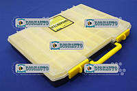 Ящик для метизов пластиковый 415х330х55 мм. 20 ячеек.  (MJ3135 (8))