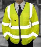 Светоотражающая накидка High Visibility Jacket. Великобритания, оригинал.