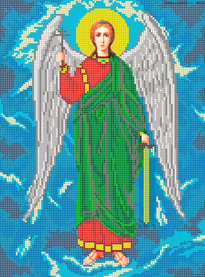 Схема для вишивки та вишивання бісером Бисерок «Ангел Хранитель» (A3) 30x40  ( 24baf2e53d22d