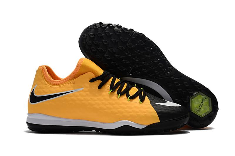 Сороконожки Nike HypervenomX Finale II TF yellow/black