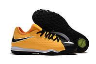 Сороконожки Nike HypervenomX Finale II TF yellow/black, фото 1
