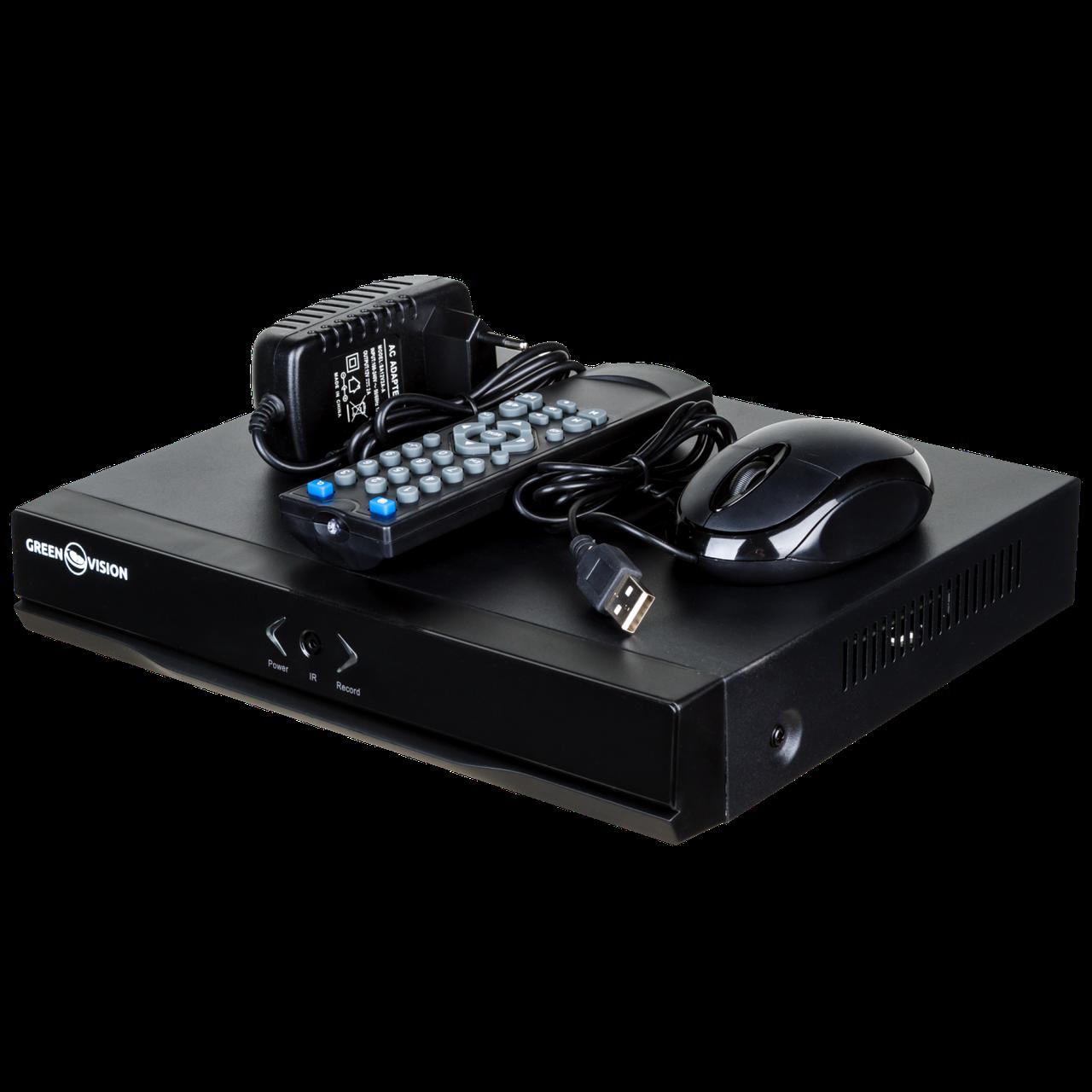 Видеорегистратор гибридный AHD  GV-A-S 031/08  1080P ТМ Green Vision