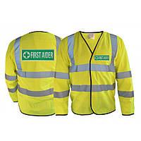 Светоотражающая накидка High Visibility Jacket Medical. Великобритания, оригинал.