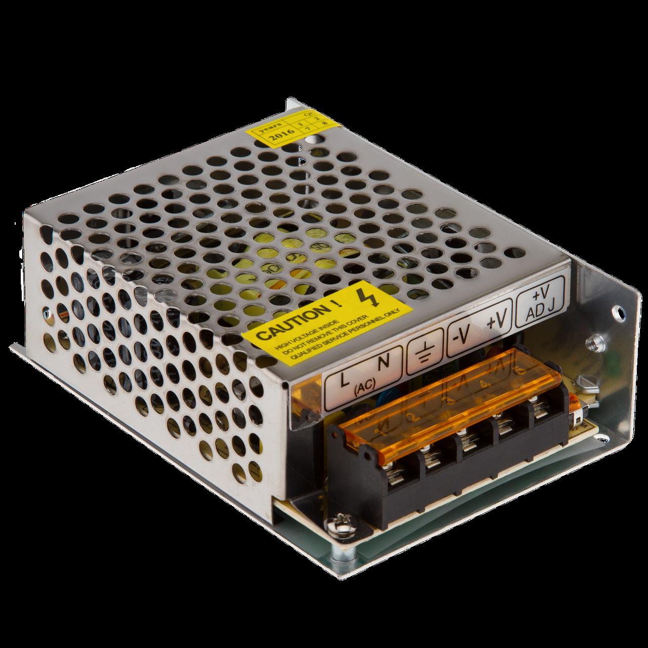 Импульсный блок питания  GV-SPS-C 12V5A-LS(60W) ТМ Green Vision