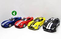 Kinsmart SRT Viper GTS 2013 синяя, метал.инерц.откр.дв