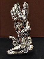 Статуэтка Руки с телом Серебро