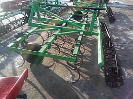 Культиватор навесной 3,2 м с катком на подшипнике, фото 2