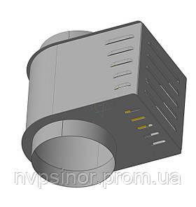 Дымосос ZEVS DPU-200 ELIT (нержавеющая сталь)