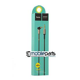 Кабель AUX HOCO UPA02 Spring Audio (Черный)