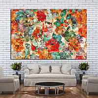 Картина - Абстрактные цветы