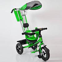 Детский трехколесный велосипед Lexus Trike LEX-007 (12/10 AIR wheels), салатовый