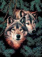 Схема для вишивки та вишивання бісером Бисерок «Вовки» (A3) 30x40 (ЧВ d3759df130d87