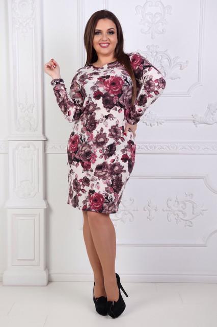 """Женское платье нарядное офис ангора-софт ткань размеры батал большие - Интернет -магазин """"Iwish"""" в Чернигове"""