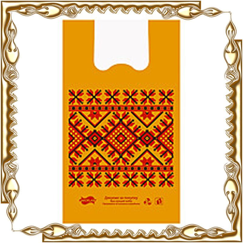 Майка 30*52 Вышиванка асорт. Пакопласт (АЛЕКС) 100 шт./уп.