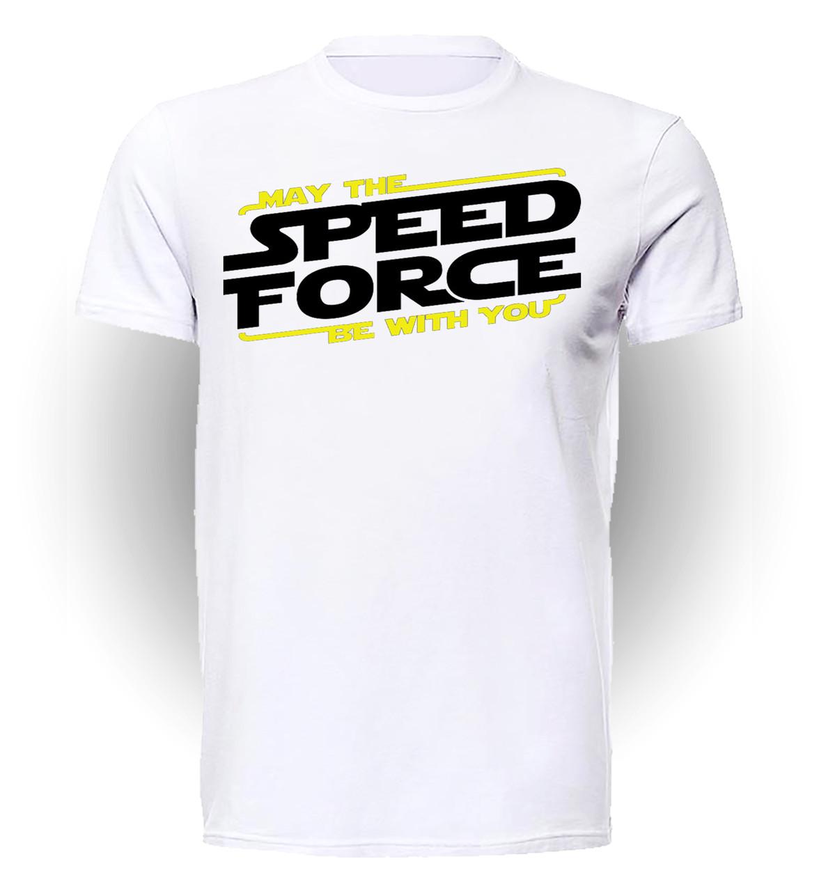 Футболка мужская GeekLand Флэш Flash Скорость в помощь FL.01.009