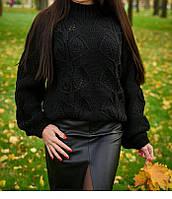 В'язаний светр жіночий, фото 1