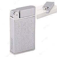 Зажигалка на подарок Ronson (Silver) Узор Venetian Turbo ZR130124, фото 1