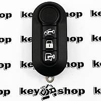 Оригинальный ключ для Fiat, Bravo, Ducato, 500L, 500L MPV (Фиат), 3 кнопки, чип ID 46 (PCF 7946), 433MHZ