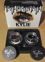 Гель-краска для бровей Kylie (Кайли) double color gel eyeliner, фото 1