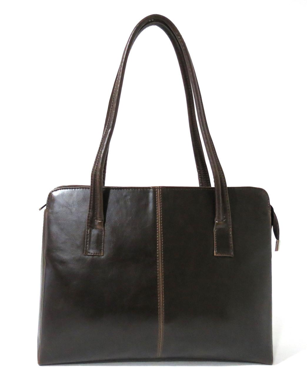5dbab4a8f7b3 Женская сумка из искусственной кожи Karen Лучина Коричневая -  Интернет-магазин сумок и кошельков