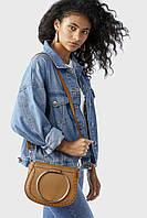 Женская коричневая сумка через плечо Accessorize