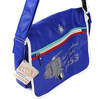 Сумка на плече Yes Italian Scooter, кожзам, синий 551486