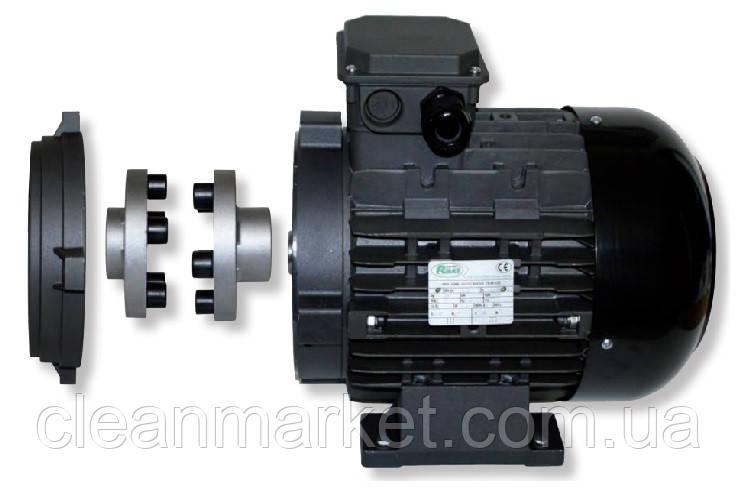 Электродвигатель RAVEL ( 9,2 кВт : 1430 об/мин) с тепловой защитой и полым валом, фото 1