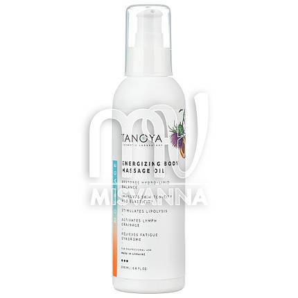 Косметическое масло Tanoya для массажа лица и тела энергезирующее, 200 мл, фото 2