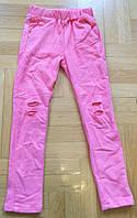 Спортивные штаны для девочек оптом, Grace, 116-146 см,  № G70726-3