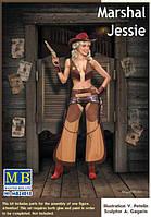 """Marshal Jessie"". Сборная платиковая фигура в масштабе 1/24.  MASTER BOX 24018"