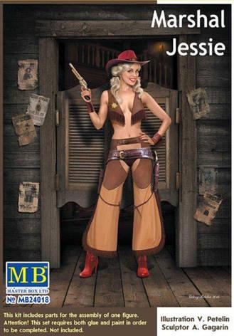 """Marshal Jessie"" 1/24 MB24018, фото 2"