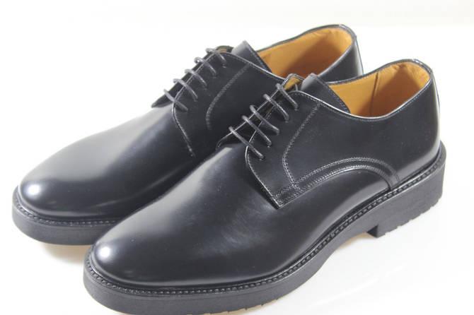 Итальянские мужские кожаные туфли 42 размер.