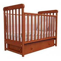 Детская кроватка Верес Соня ЛД-12 Ольха (ящ.+ прод. маят.) декор. 12.2.02, 12.2.02