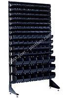 Односторонний стеллаж с лотками для метизов 1800 мм Хуст, фото 1