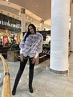 Полушубок-трансформер из финского песца